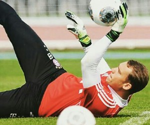 football, germany, and goalkeeper image