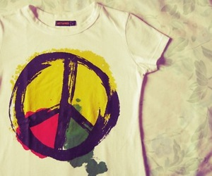 peace and t-shirt image