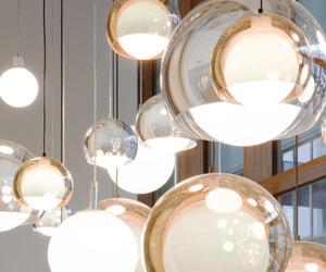 interior, lamp, and decor image