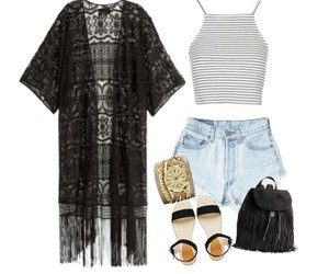 beach, chill, and outfits image