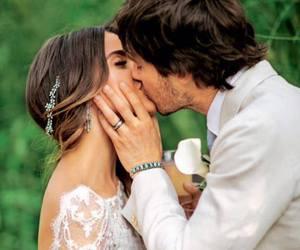 wedding, nikki reed, and ian somerhalder image