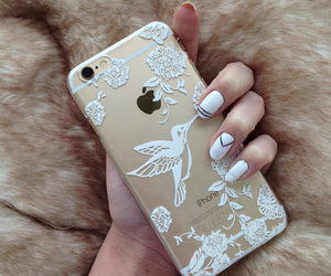 iphone, nails, and case image