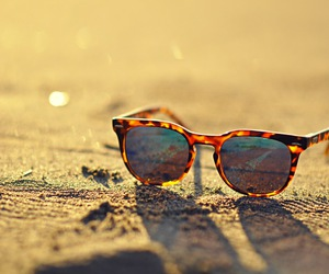 summer, sun, and sunglasses image