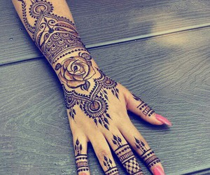accessories, nail, and art image