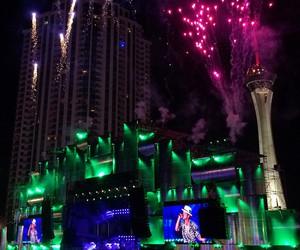 festival, fireworks, and Las Vegas image