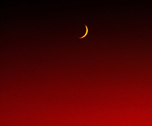 crescent, iphone, and moon image
