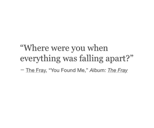 everything, falling apart, and miss you image