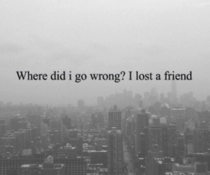 lost, Lyrics, and the fray image