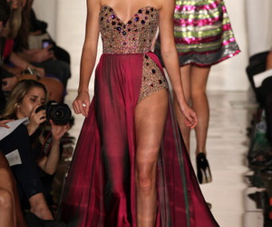 dress, formal, and shine image