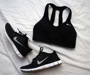 nike, sport, and black image