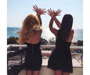 albanian, blonde, and brunette image