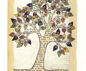 book art and tree image
