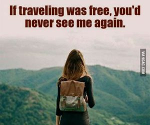travel, free, and traveling image