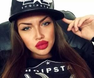 albanian, girl, and beauty image