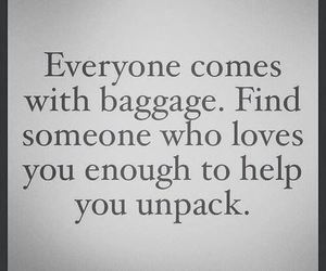 baggage and love image