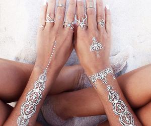 beach, feelings, and jewellery image