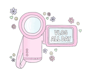 overlay, pink, and camera image