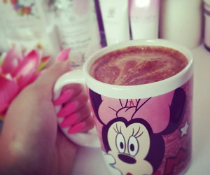 coffee, dior, and minnie image