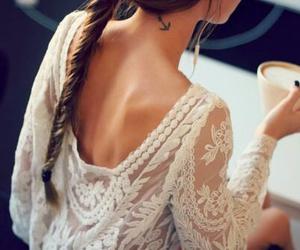 fashion, hair, and tattoo image