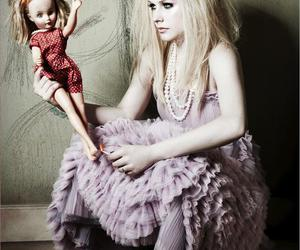 Avril Lavigne, doll, and fire image