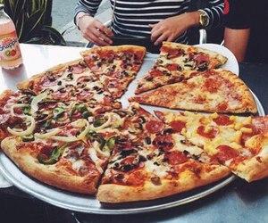 M, pizza, and life.ohana image