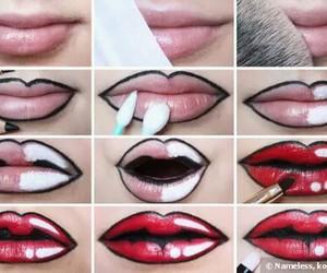 comic, diy, and lips image