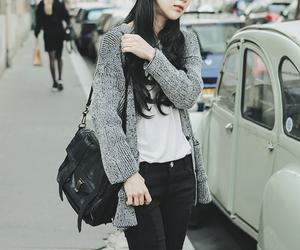 fashion and cardigan image
