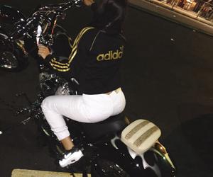 adidas and motorcycle image