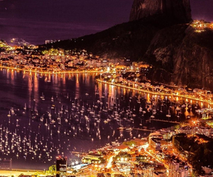 city, brazil, and light image