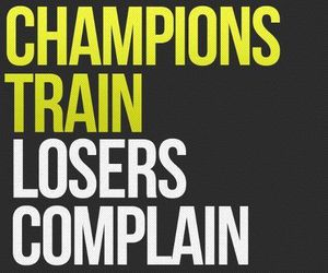 champion, motivation, and loser image