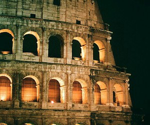 rome, italy, and night image