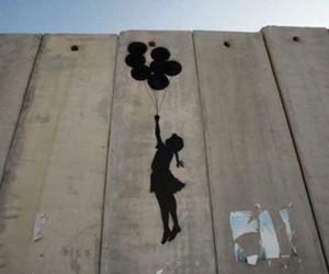 BANKSY, palestine, and graffiti image