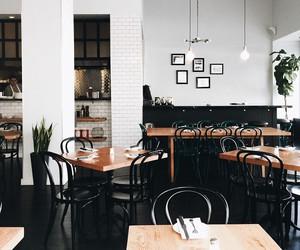 interior, design, and cafe image