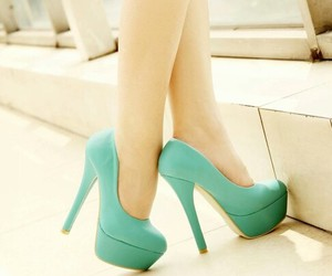 blue, cool, and shoes image