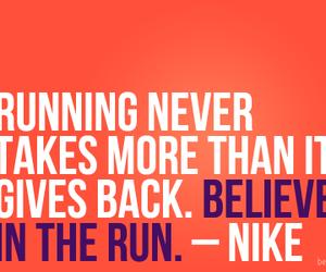 nike, run, and motivation image
