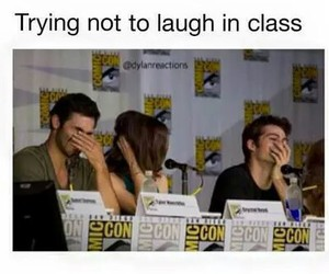 laugh, so true, and dylan o'brien image