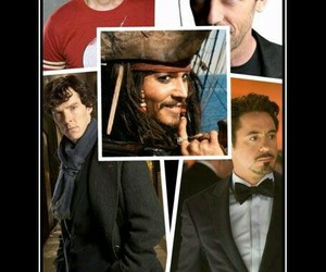 captain jack sparrow, robert downey jr, and doctor image