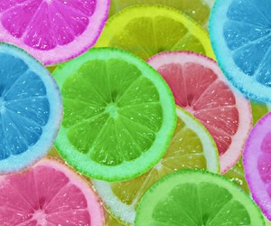lemon, colors, and color image
