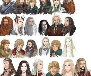 the hobbit and LOTR image