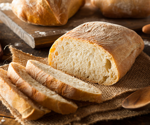 baking, bread, and cooking image