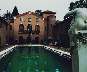 beautiful, house, and pool image
