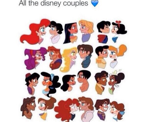 disney, couple, and cute image