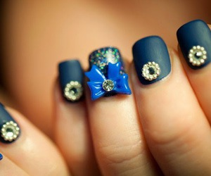 nails, bow, and cute image