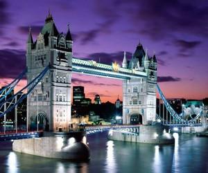 london, england, and bridge image