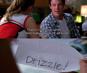drizzle, glee, and Quinn image