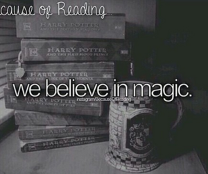 magic, book, and harry potter image