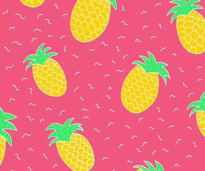 background, wallpaper, and pineapple image