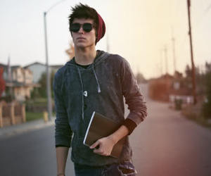 beanie, fashion, and male model image