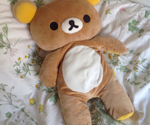 kawaii, plushie, and rilakkuma image