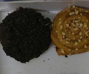 chocolate, doughnut, and donut image